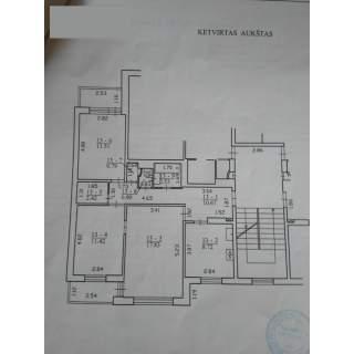 Vilnius, Fabijoniškės, L.Giros g., 3 kambarių buto pardavimas